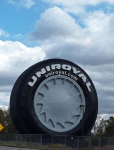 uniroyal black tire
