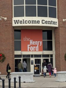 the welcome center for henry ford museum