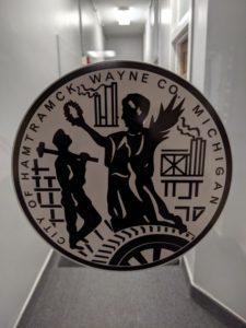 the city of hamtramck logo