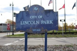 city of lincoln park sign