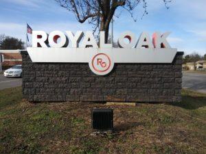 royal oak city sign