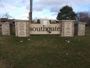 city of southgate sign