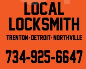 ad for the local locksmith in orange